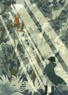 Yan Nascimbene, morto nel gennaio di quest'anno, è stato un grande illustratore dei romanzi di Calvino.