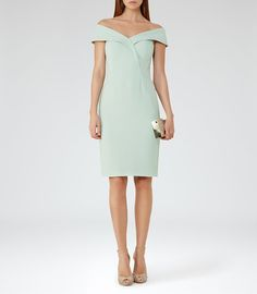 REISS - HADDI OFF-THE-SHOULDER DRESS