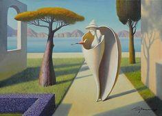 Yellow tree garden  by Evgeni Gordiets