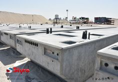 Cement and concrete coated styrofoam pontoons
