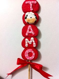 BOMBON TE AMO Saint Valentine, Valentine Day Love, Valentines, Candy Kabobs, Marshmallow Treats, I Love Chocolate, Valentine Cookies, Candy Bouquet, Baby Shower Cookies