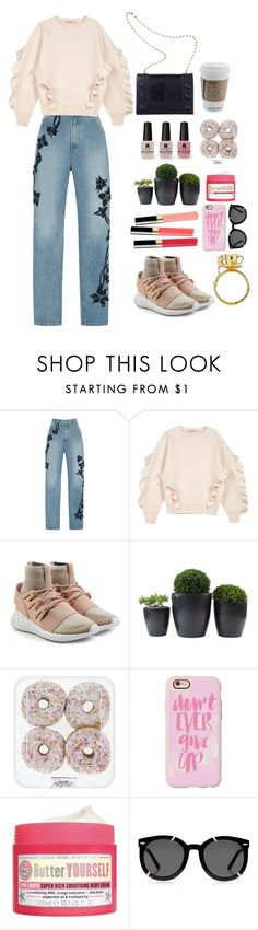"""""""Untitled #505"""" by sofhaam ❤ liked on Polyvore featuring Jonathan Simkhai, STELLA McCARTNEY, adidas Originals, Alexis Mabille, Victoria's Secret, Chanel, Casetify, Soap & Glory, Karen Walker and Alex Monroe"""
