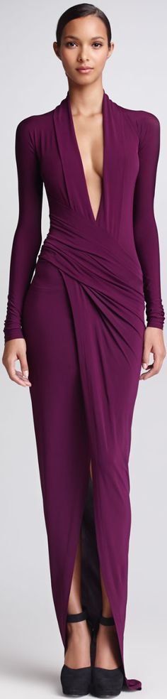 Donna Karan Resort 2014. Purple. Violet.