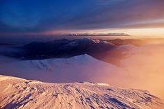 Mrazivé svítání na Chopku od Tomáše Kumstáta