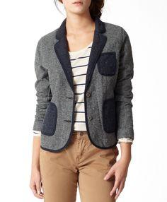 Levi's Tweed Blazer - Grey - Jackets