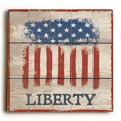 Artehouse wood signs add a touch of character to any room. Great for the cabin… Americana Crafts, Patriotic Crafts, Patriotic Decorations, Patriotic Flags, Pallet Flag, Pallet Art, Diy Wood Projects, Wood Crafts, American Flag Art
