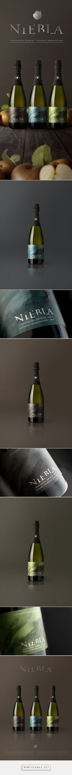Niebla Sparkling Cider Packaging by Gama Estudio | Fivestar Branding Agency – Design and Branding Agency & Curated Inspiration Gallery