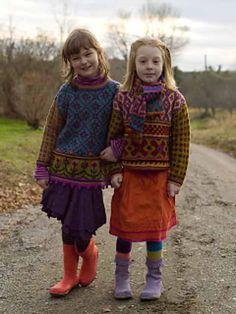 Ravelry: Best Friends Pullover - Julia's Sweater pattern by Kristin Nicholas