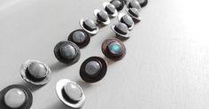 buttons- moonstonea - copper