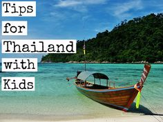 Tips for planning a trip to Thailand with kids: http://www.ytravelblog.com/planning-a-trip-to-thailand-with-kids/