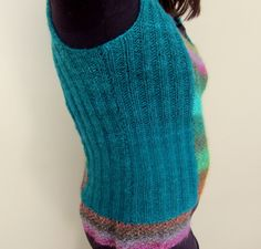 Desideria pattern made in Silk Garden and Retro (Noro Yarns) by Les Fous D'Art http://www.ravelry.com/projects/AnnieJeanson/desideria