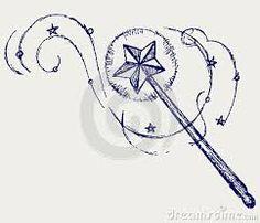 Afbeeldingsresultaat voor magic wand tattoo