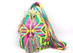 Wayuu Murulu Mochila Bag by Bluevitasw on Etsy