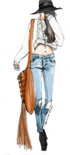 【控首饰】xunxun-missy手绘时装插画 - 堆糖 发现生活_收集美好_分享图片