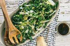 Kale and Brussels Sprouts Salad | Hatchery - Purveyors of Artisan Ingredients--Bobo's Mountain Sugar