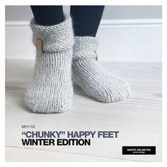 CHUNKY HAPPYFEET - WINTER EDITION Knitting Designs, Leg Warmers, Knit Crochet, Legs, Winter, Fashion, Pink, Threading, Knitting Projects