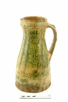 jug Production date: Medieval; late 13th-early 14th century Measurements: H 280 mm; DM (base) 144 mm