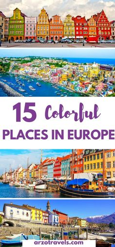 15 Most Colorful Places in Europe- for Instagrammers