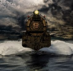 ❦ photo: Old Train | photographer: Potography & Digital Art | WWW.PHOTODOM.COM