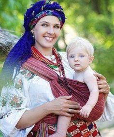Gorgeous babywearing photo in Ukraine, from Iryna We Are The World, People Of The World, Mother And Father, Mother And Child, Beautiful People, Beautiful Women, Beautiful Life, Ukraine Women, Madonna And Child