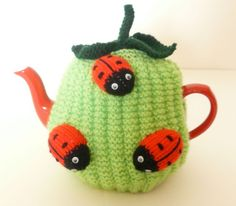 Hand knitted ladybird tea cozy ~ Inspiration