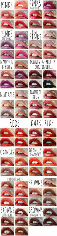 LipSense Color Chart - Home Fashion Lip Sense, Lipsense Lip Colors, Lipstick Colors, Lipsense Kit, Home Fashion, Fashion Usa, Beauty Make Up, Hair Beauty, Beauty Room
