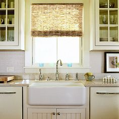 Go for a retro look with a square apron-front sink that's compact enough to fit into any kitchen remodel. Farmhouse sinks, also called apron sinks, range in size to fit your plan. /