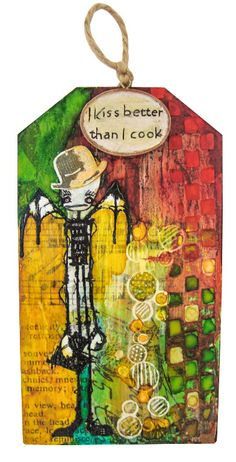Artwork created by Shirl using rubber stamps designed by Daniel Torrente for Stampotique Originals