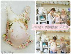 One of my newest baby belly casts in a lovely romantic look http://blog.babybauch-abdruecke.de/2013/04/gipsabdruck-babybauch-romantisch.html