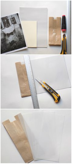 Being that kind of person who can find little treasures anywhere at any time, I decided to make that notebook with pockets made with folded paper bags. I really love these kind of crafts such as ma...