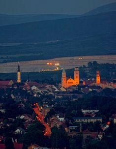 Naturwunder ...: Abendblick auf Zittau von der Koitsche aus...