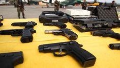 Congreso crea un registro de personas inhabilitadas para utilizar armas
