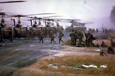 .155th Stagecoaches, An Khe liftoff into Bon son '66.