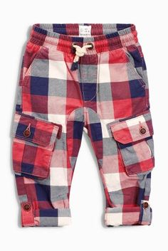 Buy Red Check Pull-On Trousers (3mths-6yrs) online today at Next: United States of America