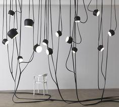 Lianes by Ronan & Erwan Bouroullec #luminaire design #flos