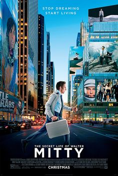 THE SECRET LIFE OF WALTER MITTY (2013): When his job along with that of his co-worker are threatened, Walter takes action in the real world embarking on a global journey that turns into an adventure more extraordinary than anything he could have ever imagined.