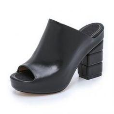 50% off Salvatore Ferragamo - Mules Maiella Nero - $337.50 #salvatoreferragamo #mules #sandals