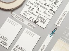 A Practice for Everyday Life create a brand identity for Karin Åkesson