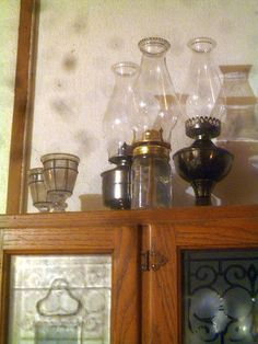 Maintaining oil lamps