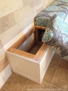 Benches With Storage Looks Pretty Easy Maybe I Should Build My