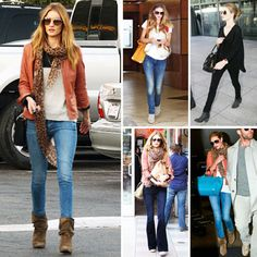 cc5d7b25ed1 Kate Bosworth casual and comfy in a short chocolate brown Uggs. have ...