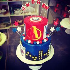 #superherobirthday #birthdaycake #fondant #cake