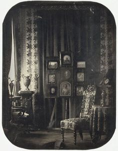 A daguerreotype by Baron Jean-Baptiste Louis Gros—a work of extraordinary quality and rarity—has been acquired by the Metropolitan Museum. Both a depiction and a demonstration of what the medium was capable of at its high point in 1850s Paris, The Salon of Baron Gros shows the interior of a mid-nineteenth-century parlor believed to be that of the baron, with light streaming in from a window at left.