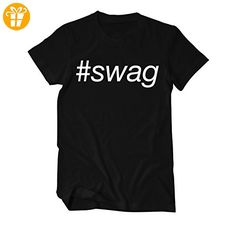 Swag Fun T-Shirt Herren XX-Large Schwarz (*Partner-Link)