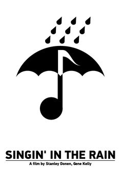 "Movie poster ""Singin' in the Rain"" Tribute to Viktor Hertz."