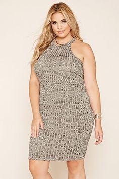 d24221b0c23 Plus Size Marled Tank Dress 15 Dresses