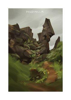 """""""Þingvellir"""" by Claire Hummel"""