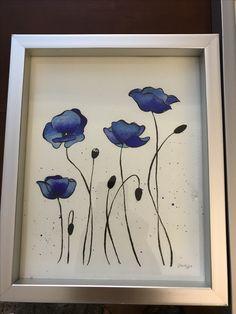 Watercolor Poppies, Design, Home Decor, Art, Flowers, Decoration Home, Room Decor, Home Interior Design