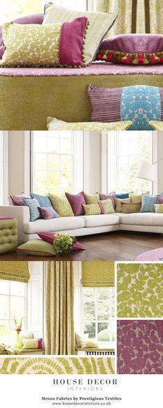 Mezzo Fabrics by Prestigious Textiles @ House Decor Interiors From £34.00 per metre