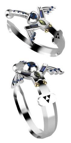 Legend Of Zelda Master Sword Ring